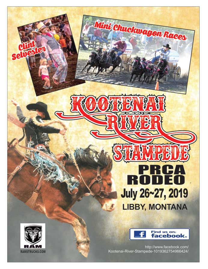 Kootenai River Rodeo Libby Montana