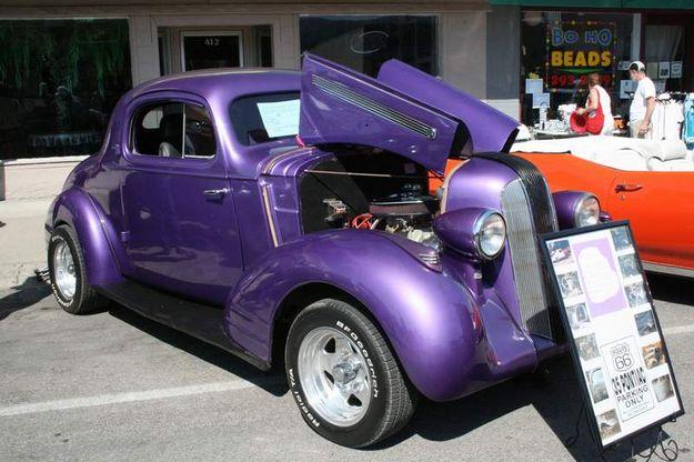 1935 Pontiac Coupe Libby News Montana