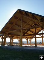 Pavilion dedication set nov 1 libby montana for Pavilion cost per square foot
