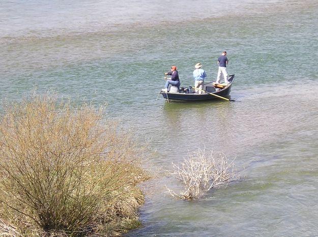 Drift boat fishing libby montana for Drift boat fishing