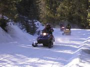 Sno-Kats Snowmobiling. Photo by LibbyMT.com.